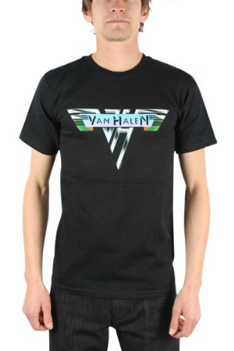 Van Halen - 1978 Vingtage Adulto T-Shirt in Nero, Large, Nero