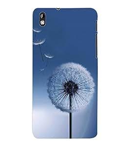 ColourCraft Amazing Flower Design Back Case Cover for HTC DESIRE 816
