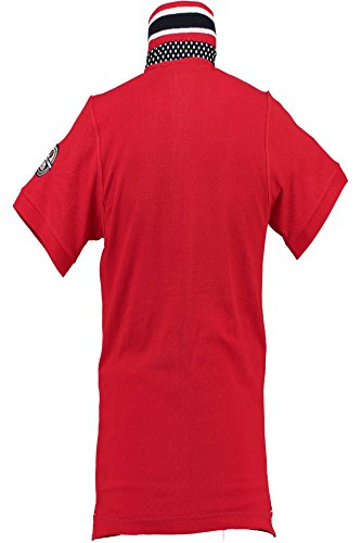 GEOGRAPHICAL NORWAY KEJMAN Polohemd mit kutzen Ärmeln Harren rot RED