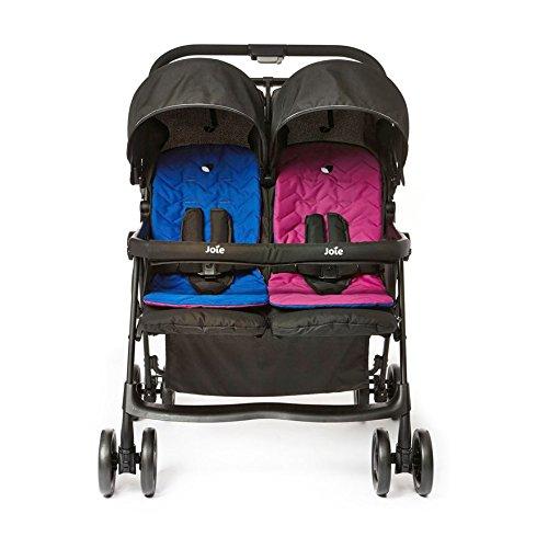 joie-aire-passeggino-gemellare-colore-rosa-blu