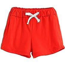9fbf5cdcc39335 Bekleidung Longra Sommer Kinder Baumwoll Shorts Jungen Und Mädchen Kleidung  Baby Mode kurz Sporthosen(2