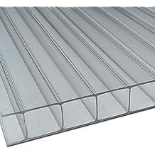 Ironlux Placa o Panel de policarbonato Celular - 10mm, 500x1.050 (Incoloro/