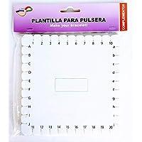 MI RINCON Disco KUMIHIMO Plantilla para PULCERAS Cuadrado 14 x14