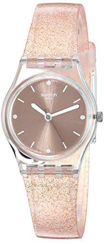Swatch Reloj Analógico para Mujer de Cuarzo con Correa en Silicona LK354D