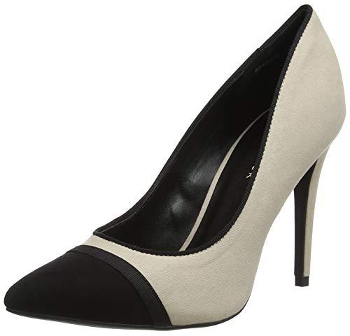 New Look Rio, Zapatos de tacón con Punta Cerrada para Mujer, Blanco (Off White 12), 39 EU