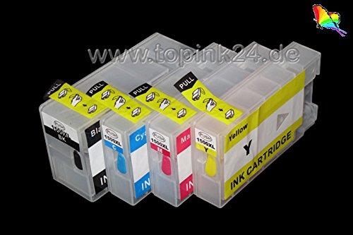 Nachfüllpatronen inkl. Autoresetchips ARC für Pigment oder DYE Tinte kompatibel zu Canon...