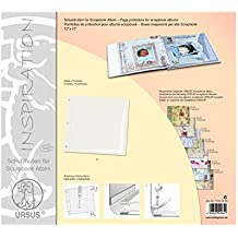 URSUS 71500000–Fundas para Scrapbook álbumes, aprox. 30,5x 30,5cm, 5unidades)