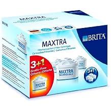 Brita 006044 Maxtra Filterkartuschen, weiß, 3+1er-Pack