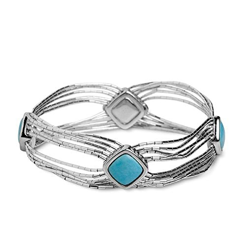 carolyn-pollack-sterling-silver-blue-turquoise-bracelet