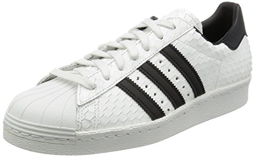 adidas Originals Superstar 80s Hommes Baskets Blanc S75836, Blanc, 41 1/3 EU