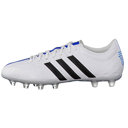 Adidas 11Pro FG Herren Fußballschuhe FTWWHT/CBLACK/SOLBLU
