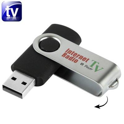 USB Internet Radio und TV Player - USB Stick für Radio und TV