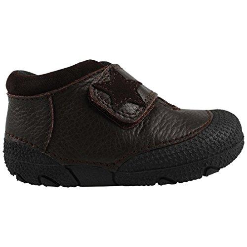EnFant 815045U-03 Prewalker Soft Shoe, Leder Baby Schuhe, unisex, Braun, Gr. 20
