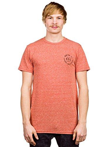 Burton, Maglietta Uomo Mens B.S.C. Arancione melange