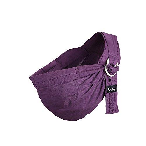 Po&Jo Babytrage für Männer und Frauen Baby Wrap SlingTragehilfe – Das beste Geschenk für Baby Shower von BabyCakes (Purple)