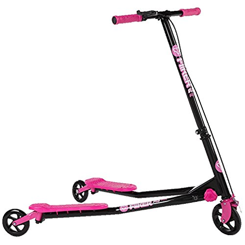 YVolution- Fliker A3 Patinete De 3 Ruedas, Color Rosa, M (100020.0)
