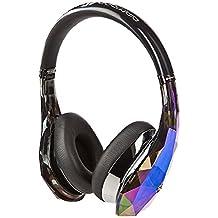Monster Diamond Tears - Auriculares de diadema cerrados (control remoto integrado) color negro