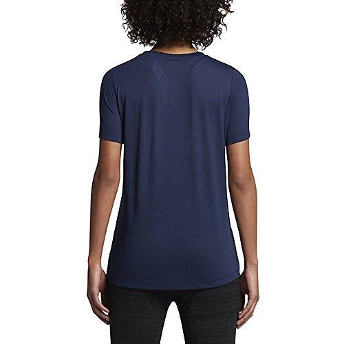 Nike W NSW ESSNTL TEE HBR T-shirt für Damen blau
