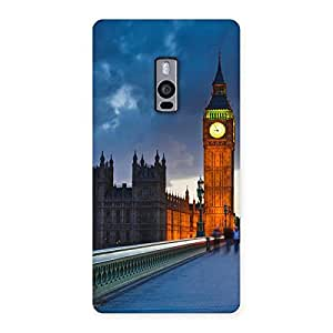 Gorgeous London City Multicolor Back Case Cover for OnePlus Two