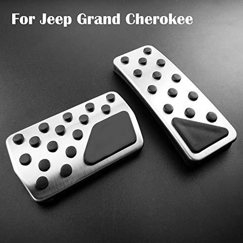 JNXZHQC Set pastiglie Pedale Freno Frizione Frizione per Auto.per Jeep Grand Cherokee 2011 2019