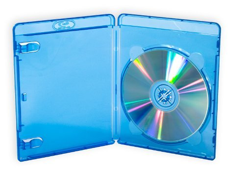 Blu-ray, 14mm, custodie per 1disco, con Logo, confezione da 25) marca drago trading®