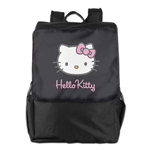 Reiserucksack Hello Kitty, leicht, Polyester, Schwarz
