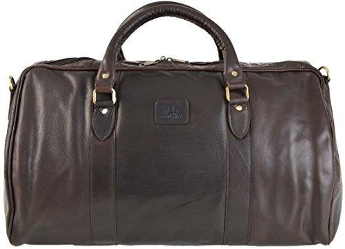qualité hommes Rowallan Grand cuir brun fourre-tout DE VOYAGE FOURRE-TOUT bandoulière 8890