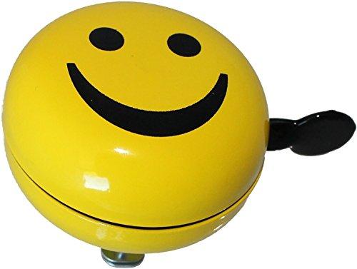 Fahrradklingel Smiley 2-Klang Ding Dong Fahrradglocke