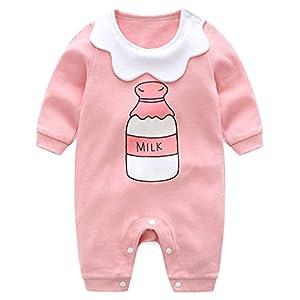 Minizone-Bebs-Pijama-Algodn-Mameluco-Nias-Pelele-Mono-Caricatura-Trajes-6-9-Meses