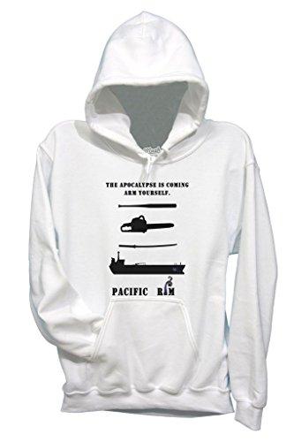 Sweatshirt Pacific Rim - FILM by Mush Dress Your Style - Herren-XL-Weiß