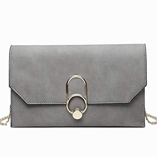 HSDDA Abendtasche Kreative Mode Mode Multifunktions Kupplung Frauen Temperament Handtasche Personalisierte Umschlag Tasche Umhängetasche für Frauen Party-Handtasche (Farbe : Grey)