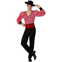 Atosa - Disfraz de flamenco para hombre, talla M/L (8514)
