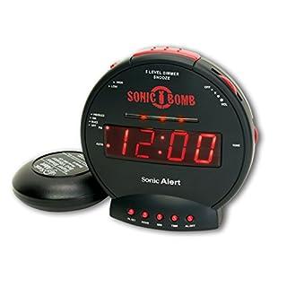 Sonic Bomb SBB500SS Loud Alarm Clock with Bed Shaker- UK Version