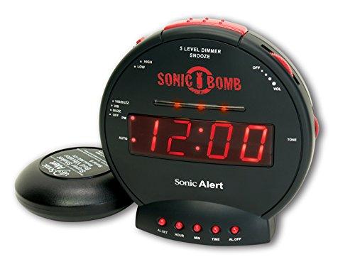 Sonic Alert SBB500SS-VDE Réveil 'Sonic Bomb'