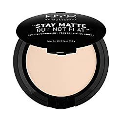 Nyx Professional Makeup Stay Matte Not Flat Powder Foundation, Alabaster, 7.5g