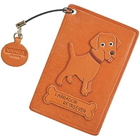 Labrador Retriever cane Pelle Pass/ID/credito/Porta carte/custodia * VANCA * fatto a mano in