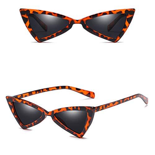 Makefortune Frauen Sonnenbrillen, Frauen-Weinlese-Katzenaugen-Sonnenbrille-Retro- kleiner Rahmen UV414 Eyewear arbeiten Damen-Gläser um ...