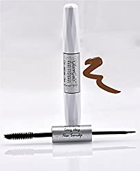 GlamGals 2 in 1-Black Mascara + Brown Liner,10 ml