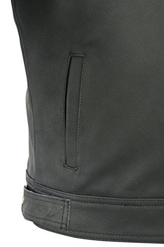Texpeed Two Tone Leather Racing Jacket - 7