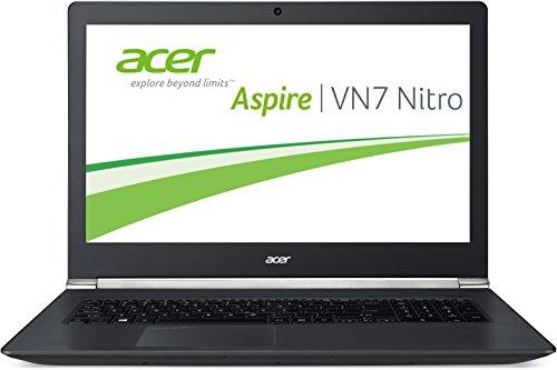 Acer Aspire Black Edition VN7-791G-779J 43,9 cm (17,3 Zoll Full HD) Notebook (Intel Core i7-4720HQ, 3,6GHz, 8GB RAM, 128GB SSD + 1000GB HDD, Nvidia GeForce GTX 960M, DVD, Win 8.1) schwarz