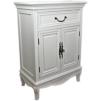 schuhkommode schuhschrank kommode antik wei landhaus 12 k rbe k che haushalt. Black Bedroom Furniture Sets. Home Design Ideas