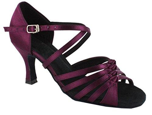 TDA ,  Damen Tanzschuhe Deep Purple