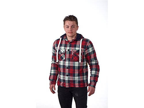 oper Hoodie Rot 3XL (Holzfäller Outfits)