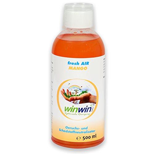 winwin clean Systemische Reinigung - Fresh AIR LUFTREINIGUNGS-Konzentrat Mango 500ml