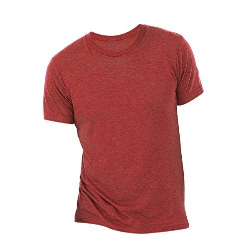 Canvas Triblend Herren T-Shirt mit Rundhalsausschnitt Sportgrau Triblend