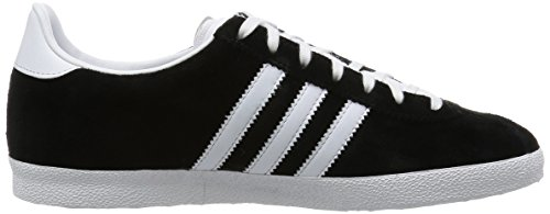 Adidas Gazelle OG Sneakers, Unisex Adulto Nero (Black 1/White/Metallic Gold)