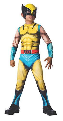 Rubies Marvel Universe Classic Collection Wolverine Costume, Child Large by Rubie's (Wolverine Muskel Kostüme)