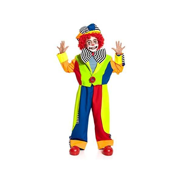 Kostumplanet Clown Kostum Fur Jungen Mit Mutze Und Grosser Fliege