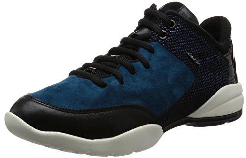 Geox Damen D Sfinge A Sneakers Blau (octane / Navyc4186)