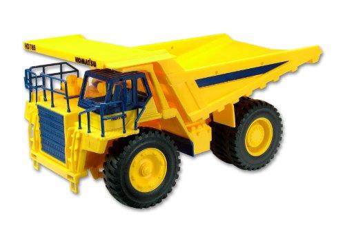 kibri-11660-modellino-rimorchio-a-benna-basculante-h0-komatsu-scala-hd-785-5